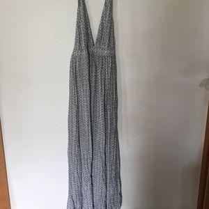 Lulus halter maxi dress size medium with slit
